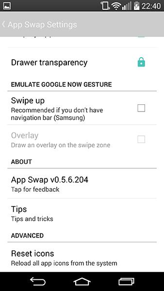app swap4-app per android