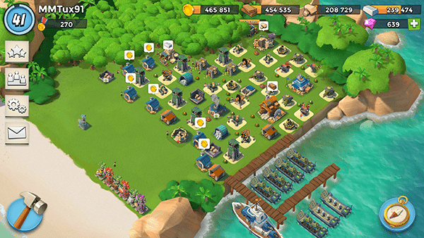 boombeach-app per android