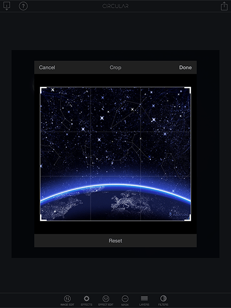 circular+-app per ipad