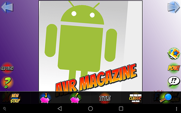 comic stript3-app per android