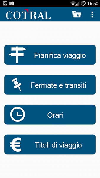 cotral-app per android