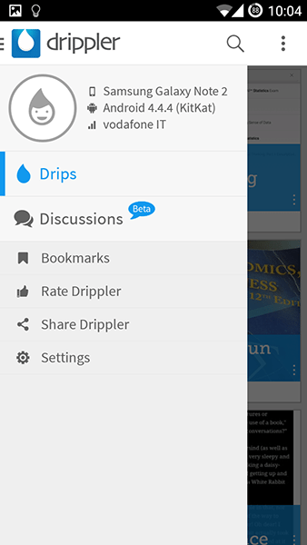 drippler-app per android