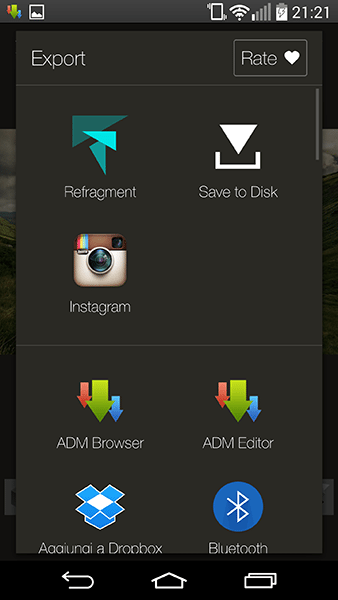 fragment4-app per Android