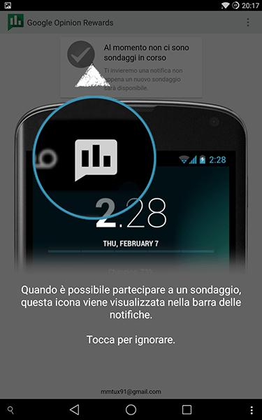 google reward-app android