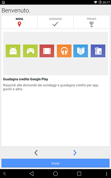 google reward-app per android