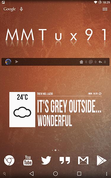 grumpy widget3-app per android
