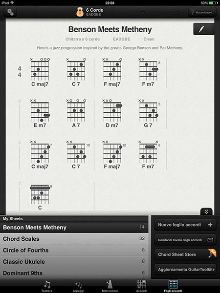 guitar toolkit5-app per ipad