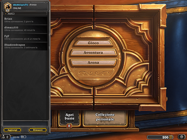 hearthstone-app per ios-android