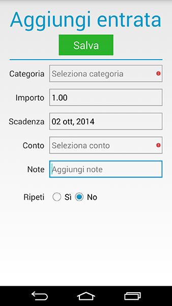 homebudget-app per android