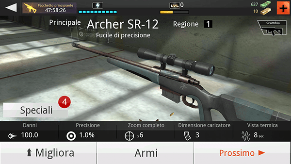 kill shot-giochi per android