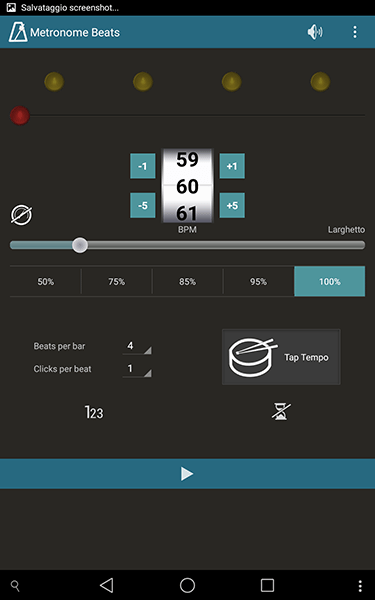 metronome beats2-app per android