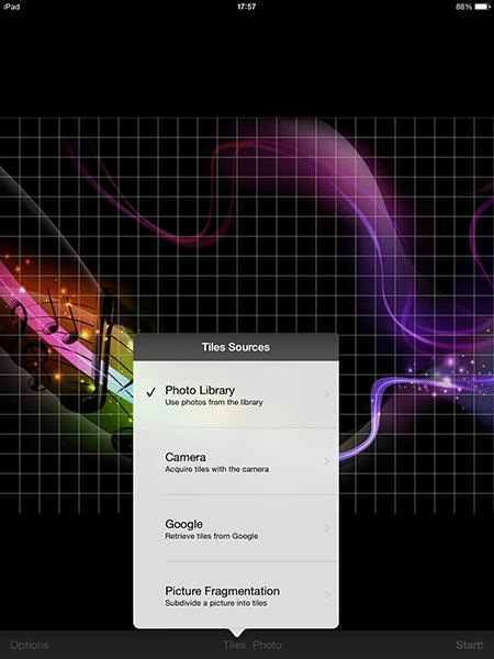 mosaic creator-app per ipad