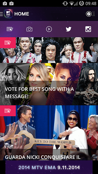 mtv ema-app android ios