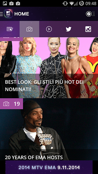 mtv ema2-app android ios