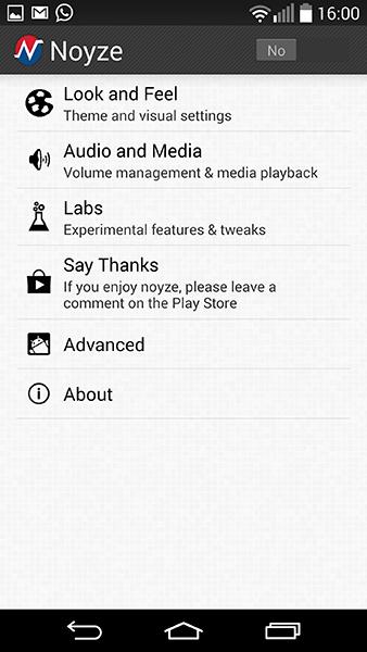 noyze-app per Android