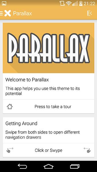 parallax iconpack-app per android