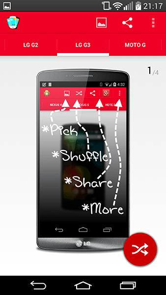 perfect screenshot-app per android