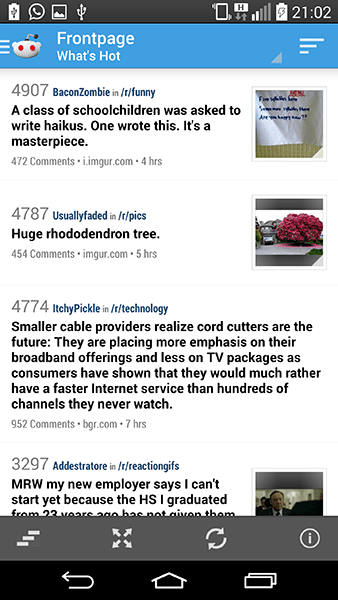 redditnews4-app per android