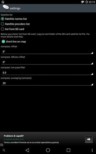 satfinder4-app per android