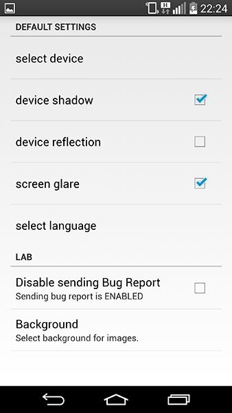 screen maker3-app per android