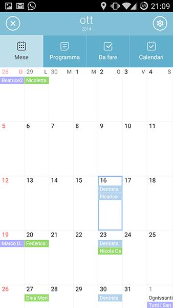 sol calendar-app per android