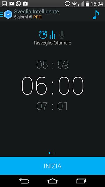 sveglia intelligente-app per Android