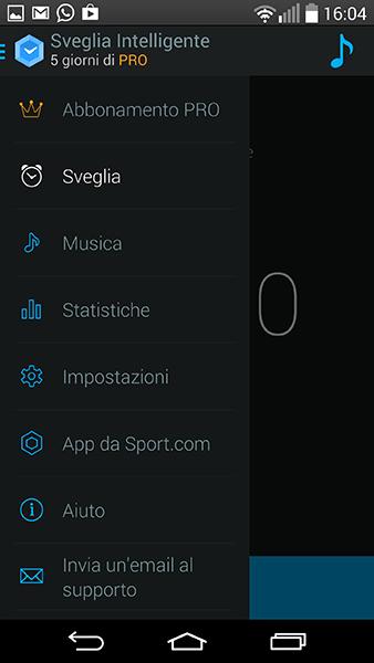 sveglia intelligente2-app per Android