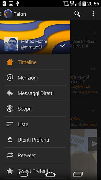 talon-app per android