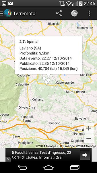 terremoto2-app per android