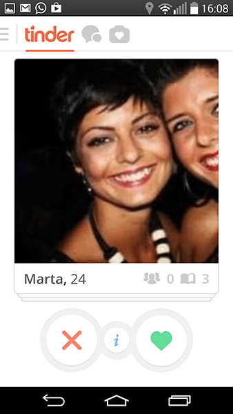 tinder-app per android