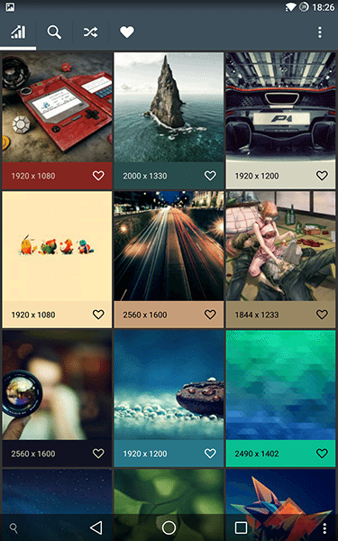 wally-app per android