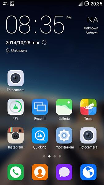 zero launcher-app per android