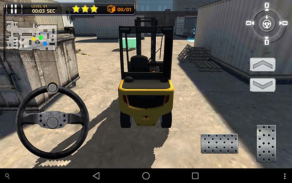 3D Forklift Parking Simulator 2-giochi per android e ios-avrmagazine