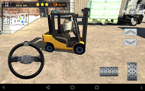3D Forklift Parking Simulator 3-giochi per android e ios-avrmagazine