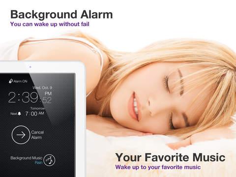 Background Sveglia app per iPhone iPad avrmagazine 2