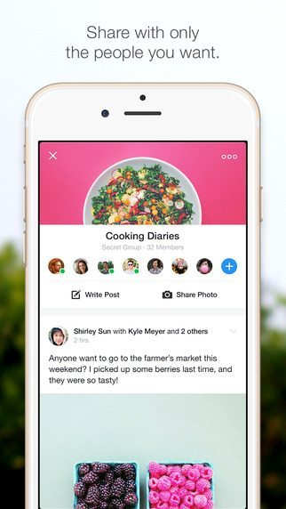 Facebook Groups app per iPhone avrmagazine 1