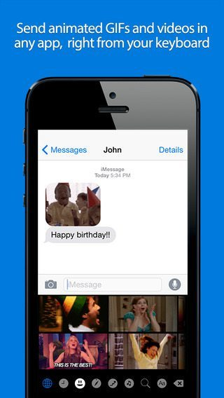 GIF Keyboard app per iPhone avrmagazine2