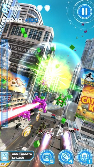 Jet Run City Defender giochi per iPhone avrmagazine 1