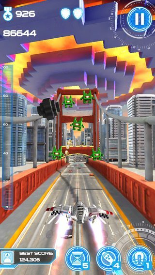 Jet Run City Defender giochi per iPhone avrmagazine