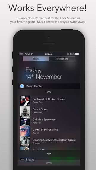 Music Center app per mac avrmagazine 2