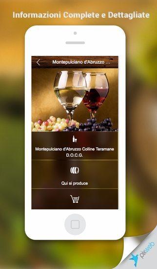Wine Italy App app per iPhone avrmagaizne 1