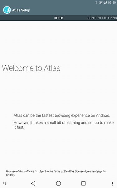 atlas web browser-app per android-avrmagazine