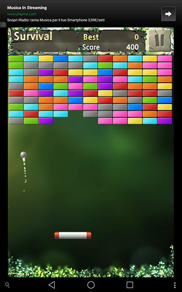 bricks breaker re4-giochi per android-avrmagazine