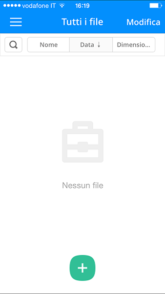 briefcase Pro-app per iphone