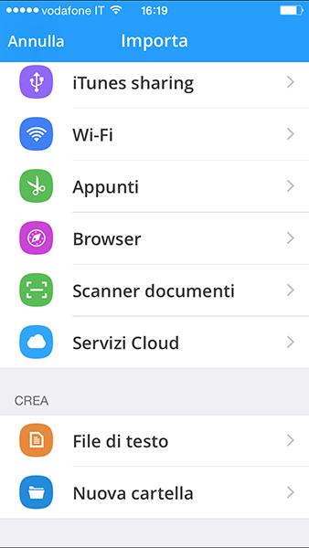 briefcase Pro4-app per iphone