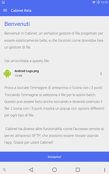 cabinet beta-app per android-avrmagazine