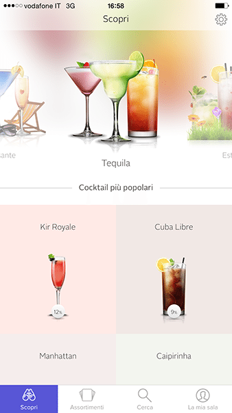cocktail flow-app per ios-avrmagazine