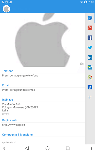 contacts+3-app per android-avrmagazine