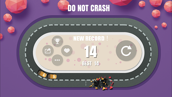 don't crash3-giochi per ios android