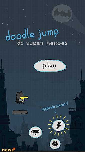 doodle jump dc super heroes-giochi ios-avrmagazine